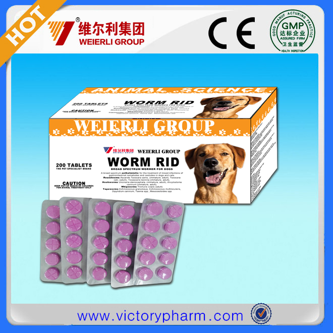 pet dewormer tablet for dog